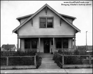 Anchorage's early jail, in use from 1914 until 1953, originally sat at Fourth Avenue and F Street.