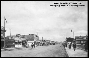 By 1920, Anchorage residents had built 12-foot-wide concrete sidewalks along Fourth Avenue, the town's main street.