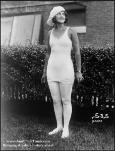 Helmar Liederman, originally from Sweden, became the first Miss Alaska in the early 1920s.