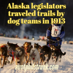 Alaska legislators traveled trails